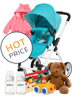 Baby carriage Aprica - Karoon